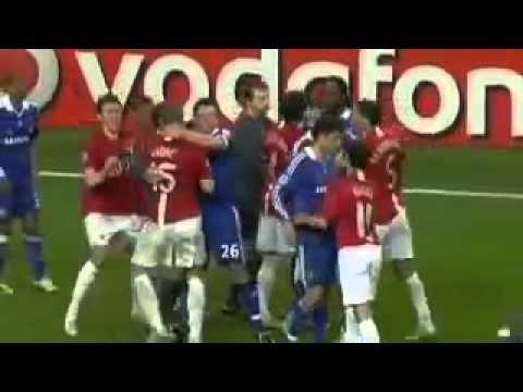 Man United vs Chelsea   UEFA Champions League 2008 Final