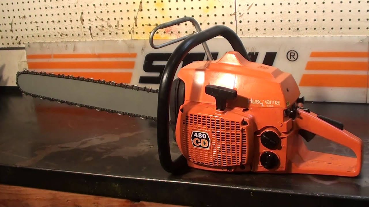 The chainsaw guy shop talk Husqvarna 480 chainsaw 1 24 - YouTube