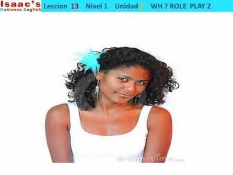 Curso de Ingles gratis  13  Nivel 1 WH questions CONVERSATION PRACTICE 2