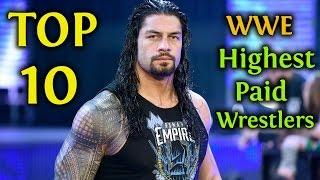 Top 10 WWE Salaries 2018 | Highest Paid Wrestlers / Superstars (Latest Released)