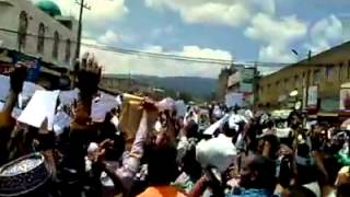 #2 Ethio Muslim Peaceful Demonstration On Apr/11/2014 at Addis Ababa Anwar Masjid