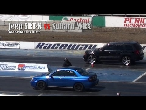 Jeep SRT 8 vs Subaru WRX