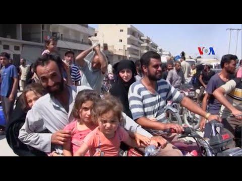Cư dân Manbij, Syria chào mừng giải phóng