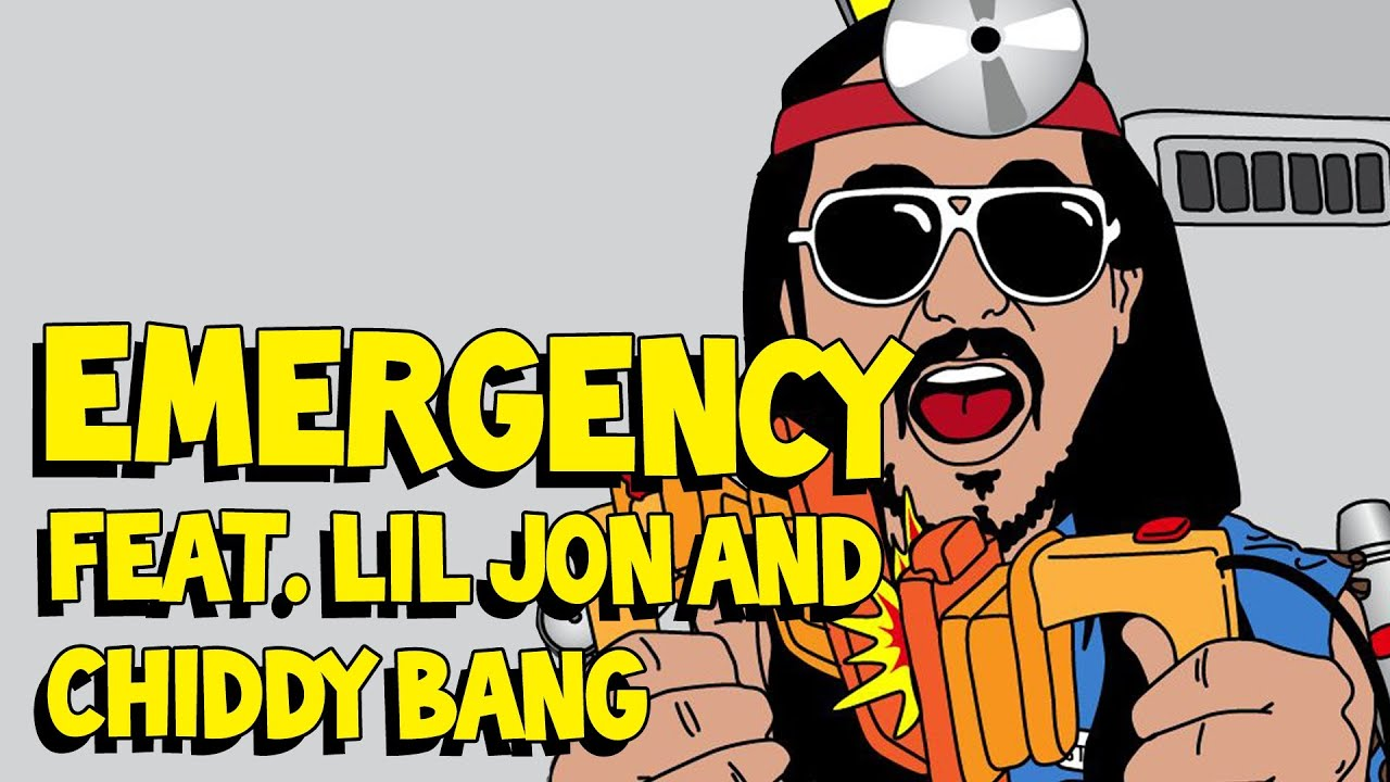Emergency (ft. Lil Jon & Chiddy Bang) - Steve Aoki AUDIO