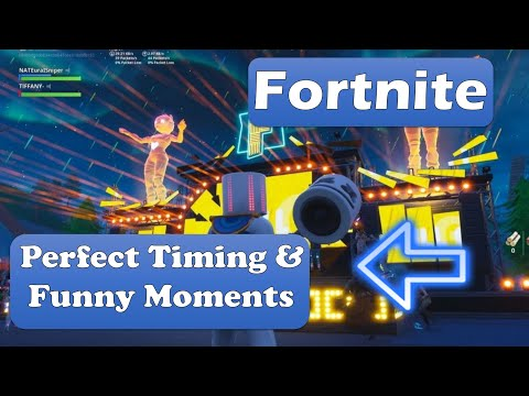 FORTNITE  Perfect👍 Timing & Funny Moments😎