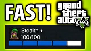 GTA 5 Online Fastest Way To Rank Up Rep, Stealth & Flying