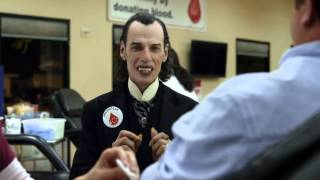 Frankie Ray GEICO Dracula Commercial Happier Than