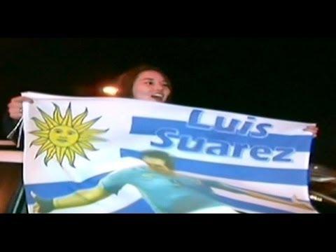 Brasil 2014: Luis Suárez regresa a Uruguay