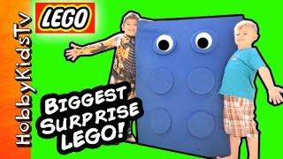 Worlds BIGGEST LEGO Brick! Ninjago Surprise Castle Creator
