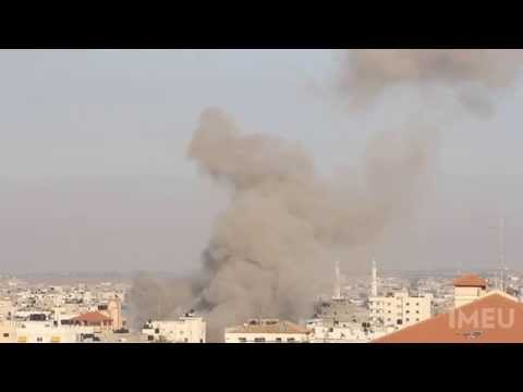 Israel Strikes House in Al-Sabra Neighborhood in Gaza