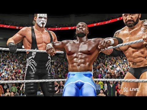 WWE 2k16 My Career Gameplay - THE AUTHORITY SCREWING ME OVER! Ep. 14