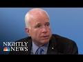 "Donald Trump Admin. In Disarray,"" Sen. McCain Tells European Security Conference 