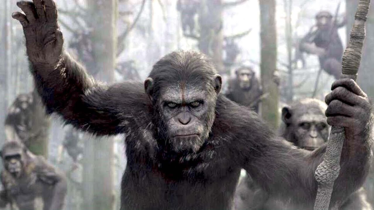 Andy Serkis plays Caesar in Planet of the Apes.