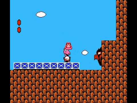 Super Mario Bros 2 - 2nd Run - Super Mario Bros 2 2nd run - standing on Dodo
