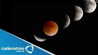 IMPRESIONANTES Imágenes Del Eclipse Total De La Luna