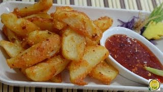 Breakfast | crispy potato wedges | crispy potato wedges