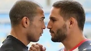 Jose Aldo & Chad Mendes Nearly Brawl At UFC 179 Media Day