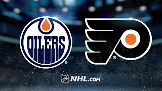 Simmonds' late goal leads Flyers past Oilers, 2-1
