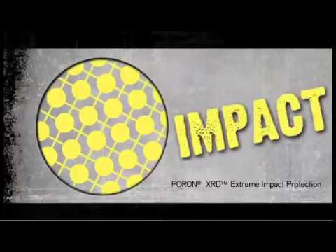 PORON® XRD® Extreme Impact Protection   Hammer Test