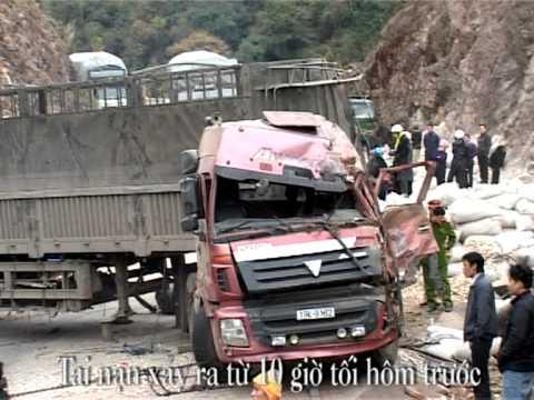 Vụ tai nạn xe tai nghiêm trọng tại đèo Chiềng Đông - Yên Châu - Sơn La
