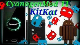 Instalando CyanogenMod 11 KitKat 4.4 No Optimus L5