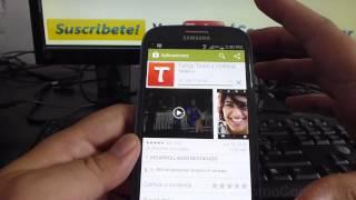 Como Descargar Tango En Mi Android Samsung Galaxy S3