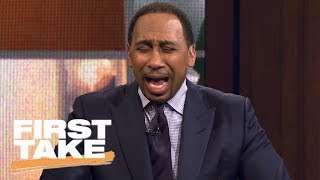 Stephen A. Smith rants about college football losses   First Take   ESPN