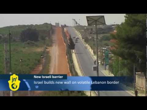 Israel Builds Lebanon Border Fence Between Israel's Metulla and Lebanon's Kila Village