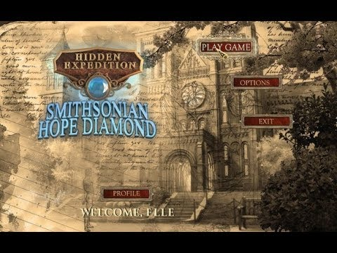 Hidden Expedition 6: Smithsonian Hope Diamond Collector's Edition PC Gameplay 2013