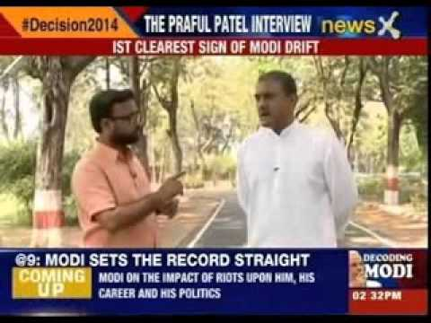 NewsX Exclusive Interview with Praful Patel