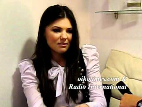 ROMANIA: PAULA SELING (2010) INTERVIEW (1)
