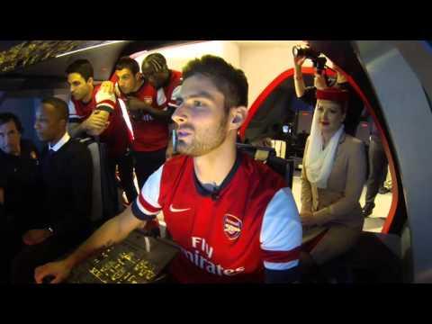 A380 Flight Simulator Challenge - Arsenal | Emirates