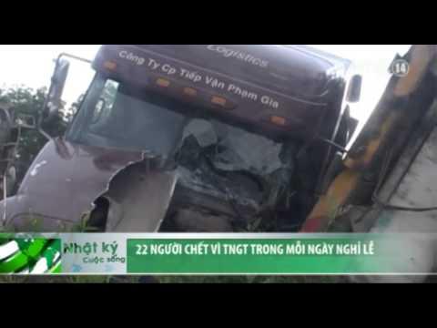 VTC14_22 người chết vì tai nạn giao thông trong mỗi ngày nghỉ lễ