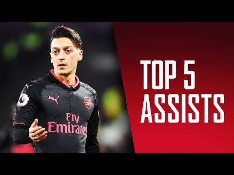 阿仙奴2017年的最佳助攻!