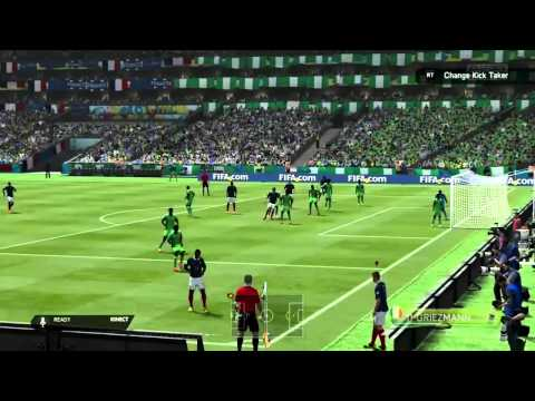 FIFA14, World Cup 2014, Prediction, France V Nigeria, Final 16