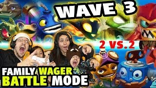 Family Food Wager Battle Mode W/ Wave 3 Skylanders Swap