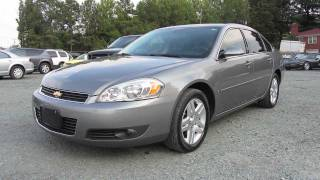 2006 Chevrolet Impala LTZ 3.9 V6 Start Up, Exhaust, And In