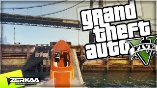 STUNT JUMPING IN BOATS | GTA 5 Funny Moments | E308 (GTA V Online)