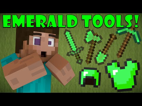 Why Emerald Tools Don't Exist - Minecraft