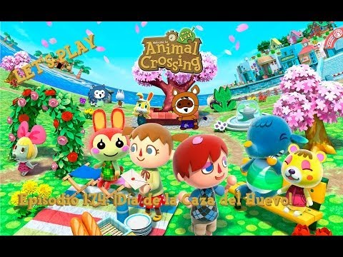 Diario Animal Crossing New Leaf - Episodio 174: ¡Día de la Caza del Huevo!