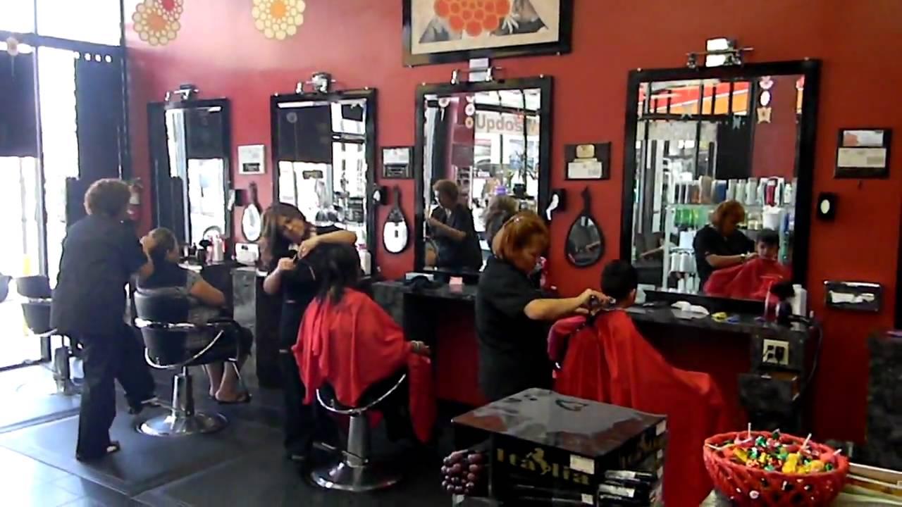 Salon de belleza en los angeles ca youtube - Colores de salones fotos ...