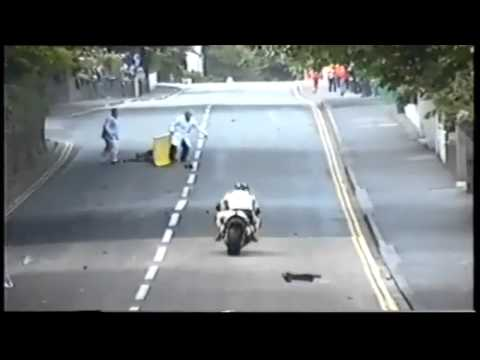 Terrible Motorcycle Crash: Man Seriously Injured