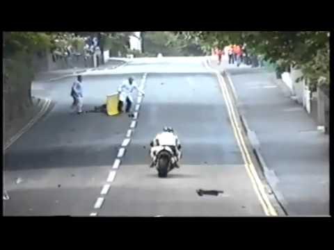 Terrible Motorcycle Crash: Man Seriously Injured