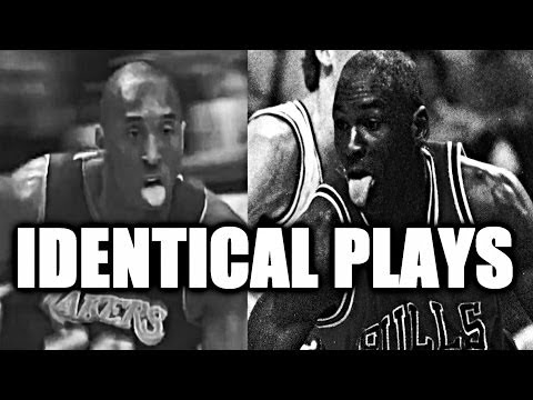 Kobe Bryant vs Michael Jordan - Identical Plays