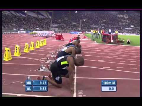 Usain Bolt 9.76 (-0,1) Rome 2012 Diamond League