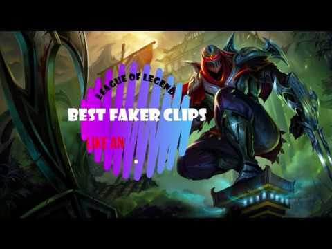 League of Legends, Faker *Best Moments, Insane zed moments*