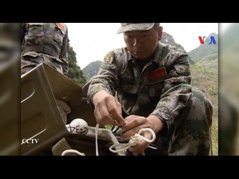 Trung Quốc dọn mìn dọc theo biên giới Việt-Trung