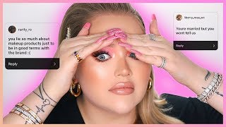 READING YOUR ASSUMPTIONS ABOUT ME.. The Truth!   NikkieTutorials