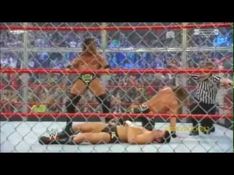 DX vs. Legacy - Hell in a Cell 2009 Highlights HQ