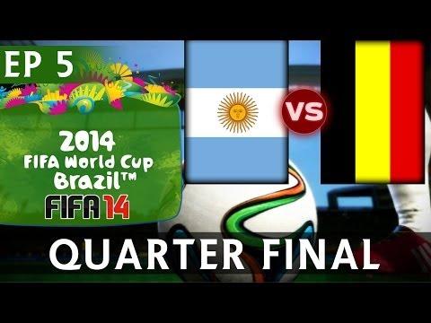 [TTB] 2014 FIFA World Cup Brazil - Argentina Vs Belgium - QUARTER FINAL - EP5